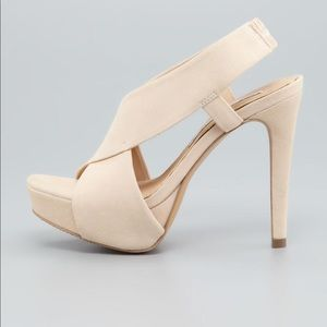 GOOD CONDITION DVF ZIA SUEDE HIGH SANDALS SIZE 7.5